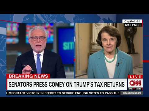Feinstein Says There is No Evidence of Collusion Between Trump Associates and Russia