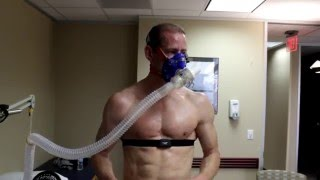 New - Broke the Record VO2 MAX TEST WITH ELITE ATHLETE SCOTT ANDERSON PA TOP 1% TRIATHLETE
