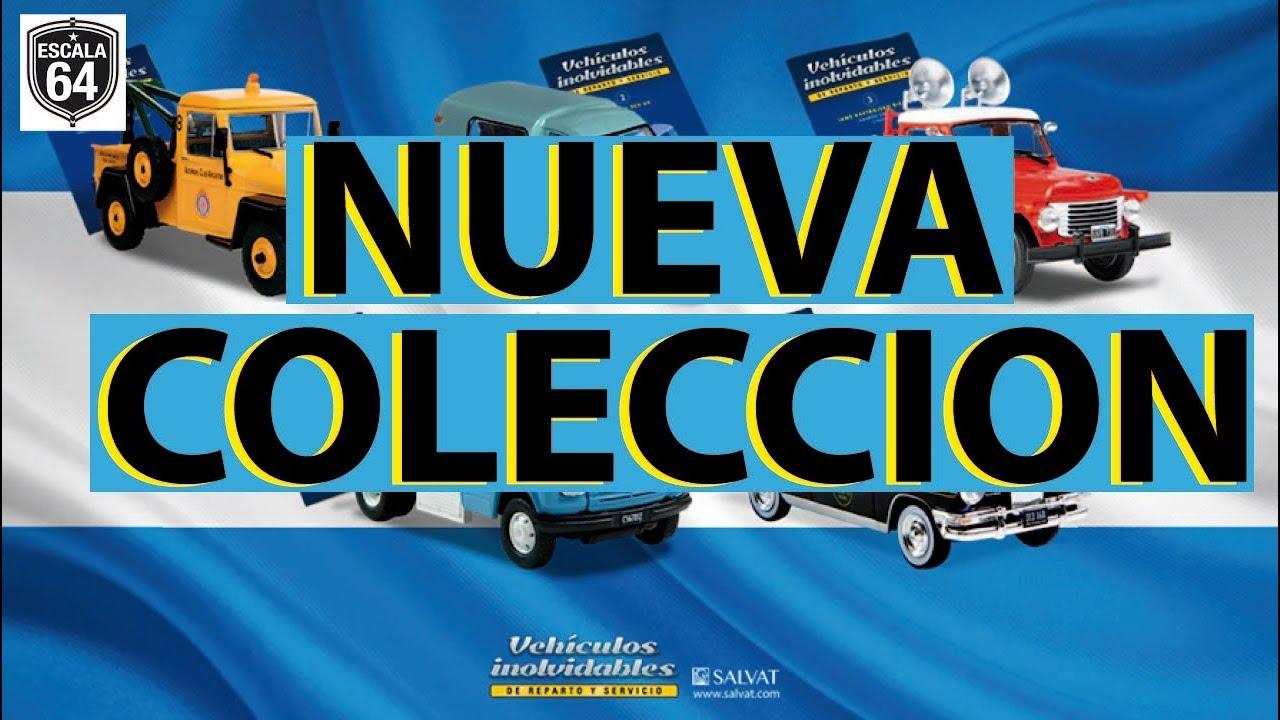 Autos De Reparto Y Servicio Nueva Coleccion De Salvat Youtube