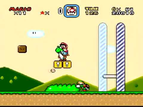 """Fr3aky & Gate zocken Super Mario World #2 - """"Ich mach das schon"""""""