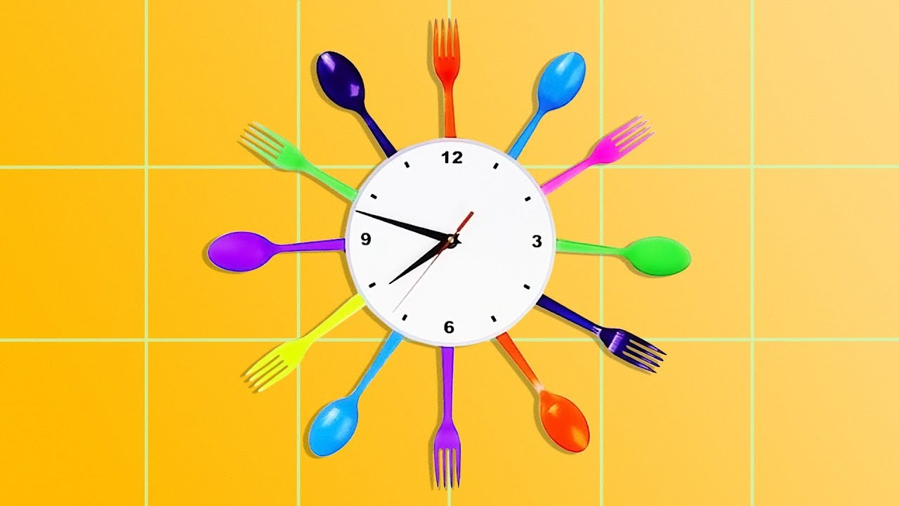 21 COOL FORK AND SPOON CRAFTS FOR CHILDREN - YouTube