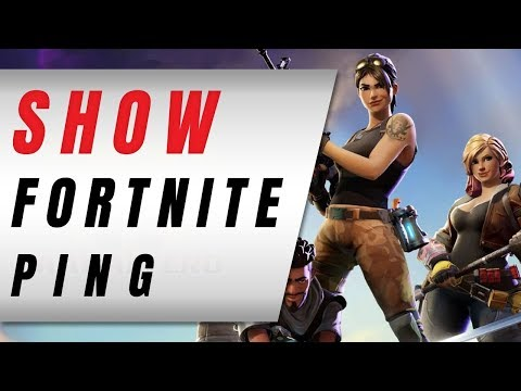 How To Show Or SEE Your Fortnite Ping While Playing!