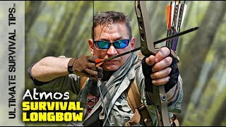 WOW! Atmos Backpack Survival Longbow - BEST Bug Out / Hunting / Archery Bow Ever? You Decide...