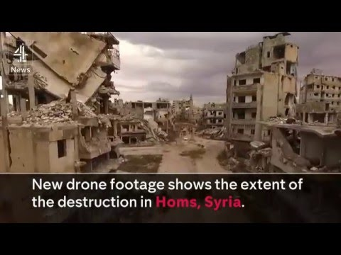 Homs, Syria - The unbelievable destroyed city