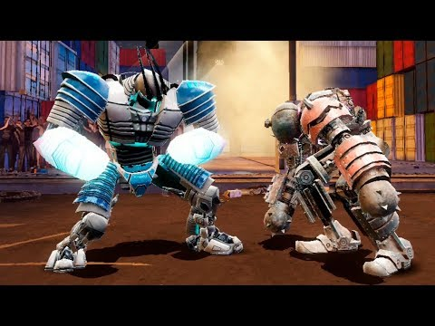 World Robot Boxing 2 (Real Steel 2) - STORY MODE MIDNIGHT - IRON WARRIOR