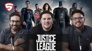 Justice League Special Comic-Con Footage Reaction!
