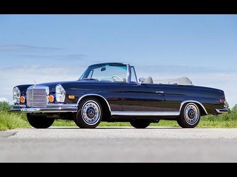1971 mercedes benz 280 se 3 5 cabriolet youtube. Black Bedroom Furniture Sets. Home Design Ideas