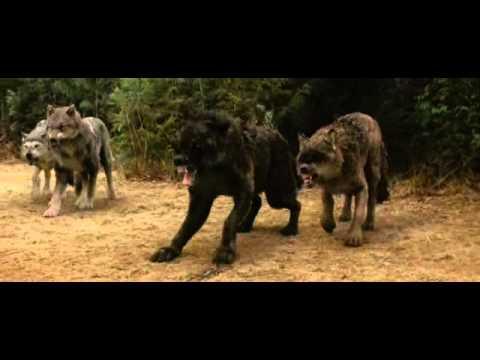 Twilight New Moon Laurent Bella et les loups