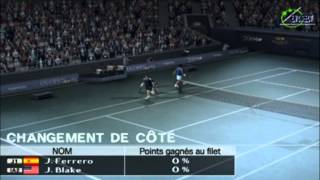 Smash Court Tennis Pro Tournament 2 sur PS2 FR