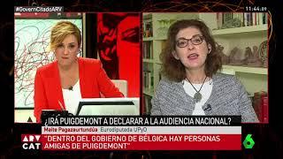 """Maite Pagazaurtundúa: """"Puigdemont seguirá intentando mostrarse como una víctima"""""""