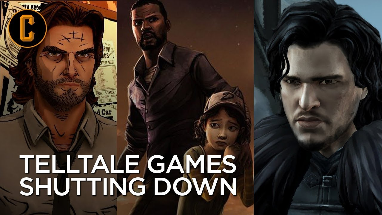 Telltale Games Shutting Down - No More Walking Dead, Game of Thrones