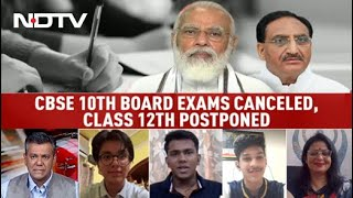 CBSE Exams: CBSE Class 12 Board Exams Postponed, Class 10 Exams Cancelled