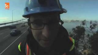 Build It Bigger - Danny Climbs The Bay Bridge - Part 1