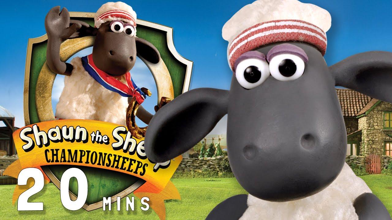 Shaun the Sheep – ChampionSheeps [20 MINUTE COMPILATION]