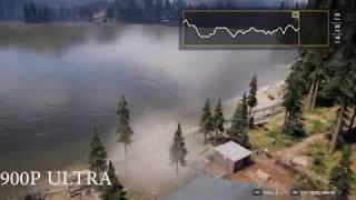 Far Cry 5 GTX 950M 4GB, i5 6300HQ, 8GB Ram-All settings