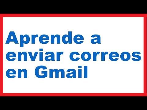 ¿Cómo enviar un correo electrónico en Gmail?