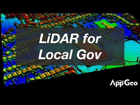 How can Local Governments use LiDAR?
