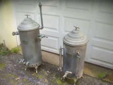 antique hotel copper u0026 brass coffee urns industrial coffee maker circa 1920s youtube - Industrial Coffee Maker
