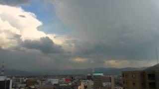 2014 05 28 0900~2130 雷雨発生 長野市西部1日の空模様