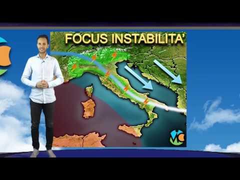 Previsioni meteo Italia weekend 16-18 Giugno 2017