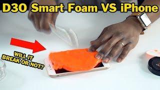 D3O Smart Foam vs iPhone & Apple Watch. Will they break ?