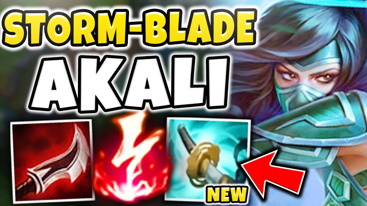 THIS NEW AD NUKE AKALI BUILD IS BEYOND BROKEN! YOU CAN'T EVEN BUILD AGAINST  IT! - League of Legends
