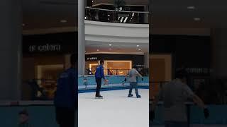 Cara belajar ice skating @ margocity depok