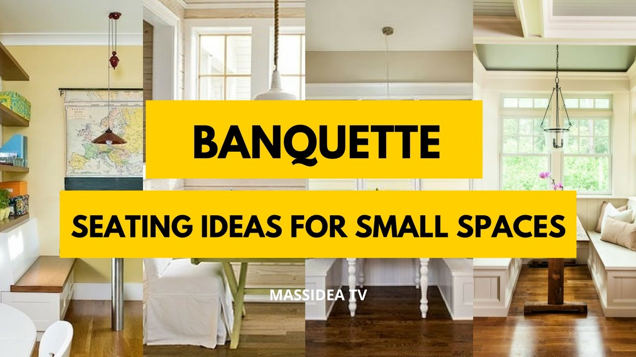 30 Awesome Banquette Seating Ideas For Small Es 2017