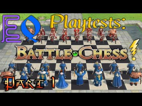 Playtest: Battle Chess: Game of Kings