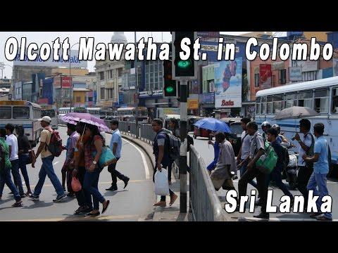 Sri Lanka, Colombo, Olcott Mawatha Street