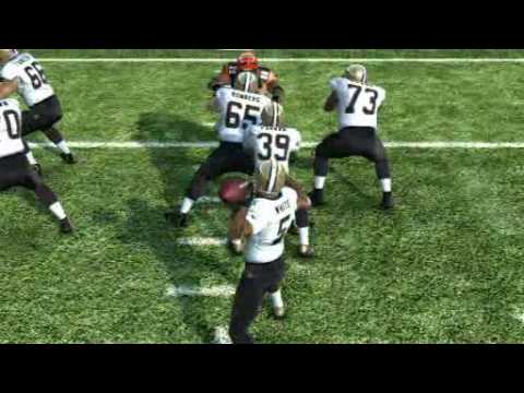 Pat White Passes To Robert Toliver For A 23 Yard T...