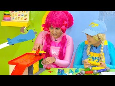yoyo& Dodi the building game - يويو ودودي ولعبة التركيب