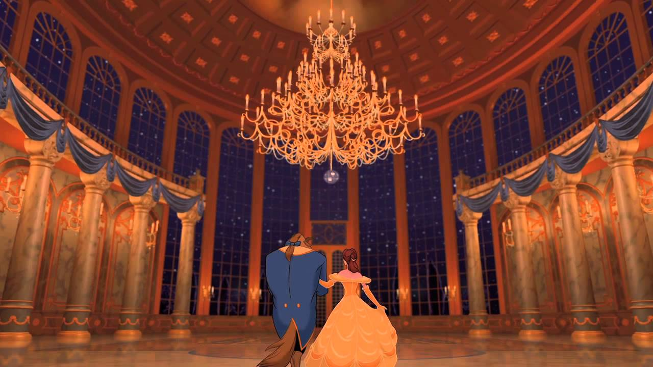 Beauty And The Beast 3d Tale As Old As Time Youtube