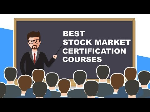 Stock market certification courses for value addition on resume and gaining knowledge
