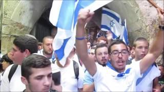 יום ירושלים, ריקוד הדגלים תשע