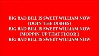 Big Bad Bill (Is Sweet William Now)-Van Halen avi. karaoke