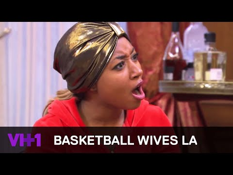 Basketball Wives LA | Sundy Hits Brandi Below The Belt | VH1