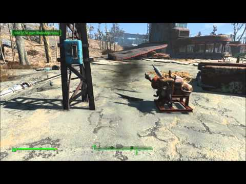 fallout 4 hook up power to house
