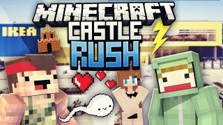 REWI WI**ST IN IKEA?! - Minecraft CASTLE RUSH VS Rewi #10| ungespielt