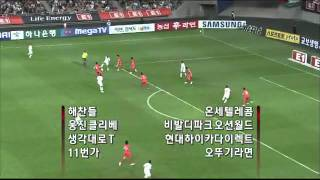 South Korea 2   2 Jordan   2010 FIFA World Cup Qualifiers   YouTube