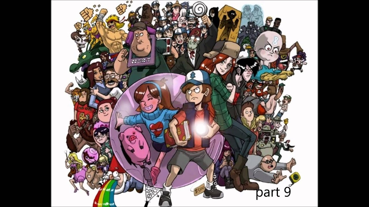 Gravity Falls Everybody Wants To Rule The World Lorde Map