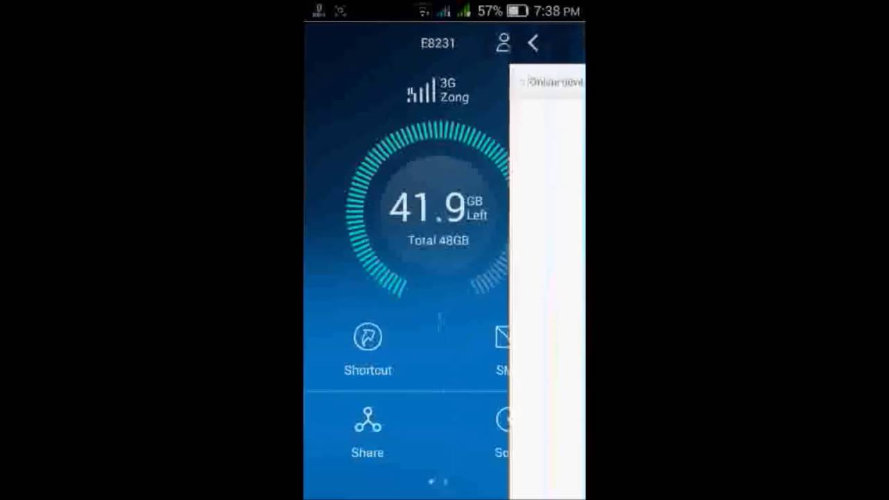 How manage your huawei internet Router with huawei Hilink App in Urdu