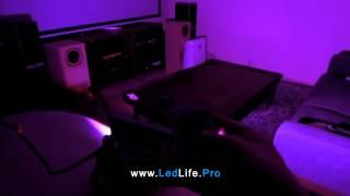 Светодиодный RGB прожектор 10W(RGB прожектор 10W (Ватт) с пультом управления. Видео подсветки интерьера. Подробное описание читайте тут: http://led..., 2014-02-11T18:07:02.000Z)