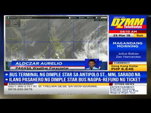 Brewing storm heads for PH as Holy Week starts