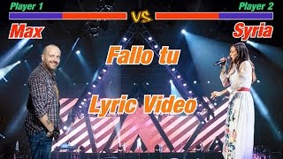 Max Pezzali: Fallo tu (Fight Lyric Video)