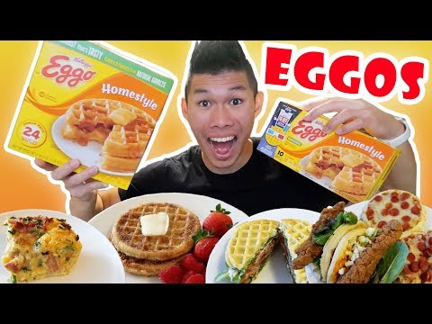 EGGO WAFFLE Recipes Inspired by STRANGER THINGS || Life After College: Ep. 574