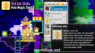 Ayumilove MapleStory RED Cleric, Priest, Bishop Skills Video Preview