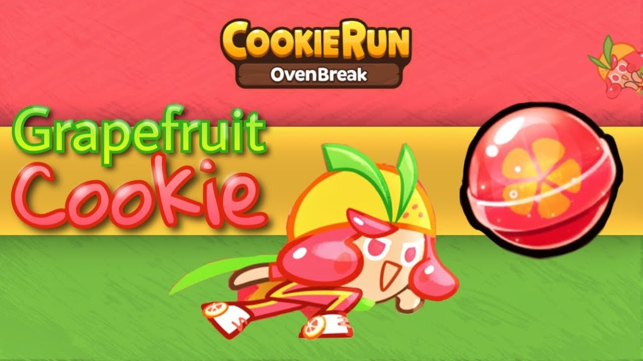 Cookie Run: OvenBreak | Grapefruit Cookie & Pet! | HD Quality