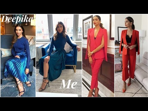 I dressed like DEEPIKA PADUKONE for a WEEK!