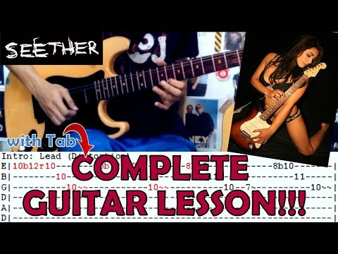 Careless Whisper(Rock Version) - Seether(Complete Guitar Lesson/Cover)with Chords and Tab